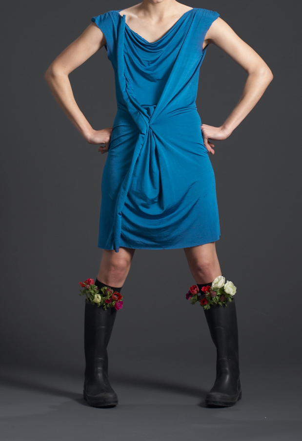 blue-dresshead