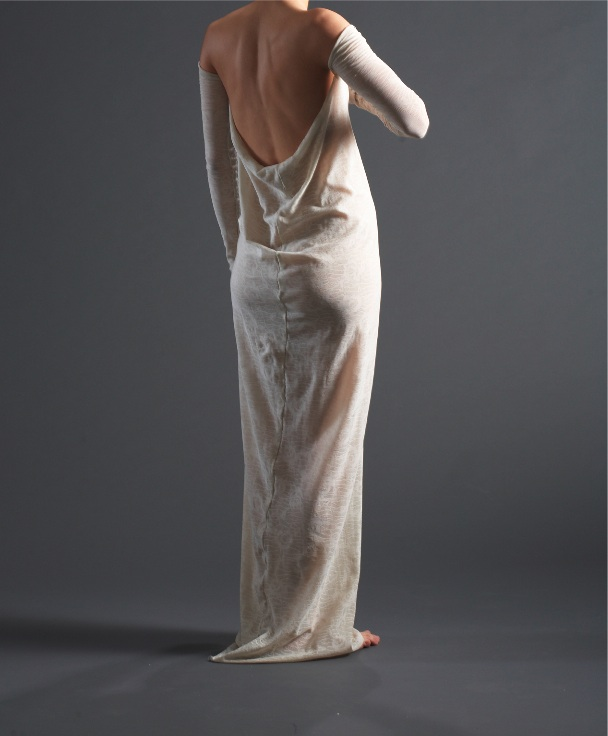 white gownhead